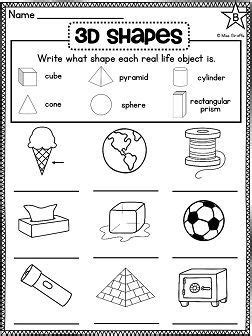 grade math unit geometry 2d shapes and 3d shapes
