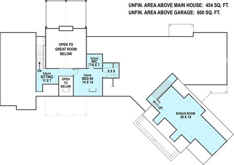 Craftsman House Plan With In-law Suite