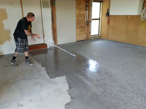 Garage Floor Paint Vs Stain by Sherwin Williams Concrete Stain