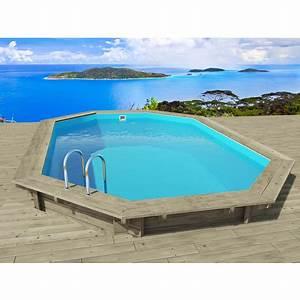 Liner Piscine Pas Cher : piscine bois havana x x m ~ Dallasstarsshop.com Idées de Décoration