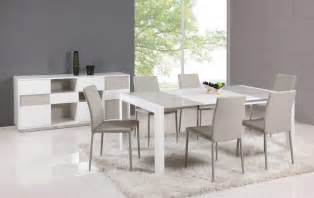 modern kitchen furniture sets extendable glass top leather dining table and chair sets lincoln nebraska chgin