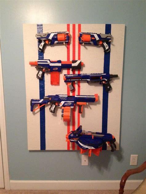 nerf gun rack nerf gun rack for a boys room home