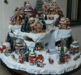 Dept 56 Halloween Village Displays by Custom Miniature Christmas Village Display Platform By