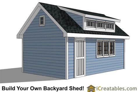 12x20 shed plans pdf 12x20 shed plans with dormer icreatables