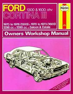 Ford Cortina Mk3 1300 1600 1970 1976 Haynes Service Repair