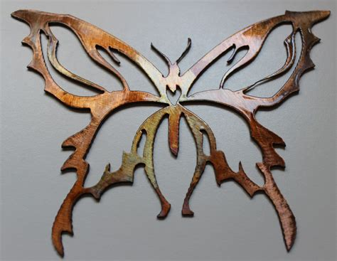 metal wall decor small butterfly ebay