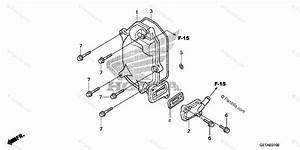 Honda Scooter 2007 Oem Parts Diagram For Cylinder Head