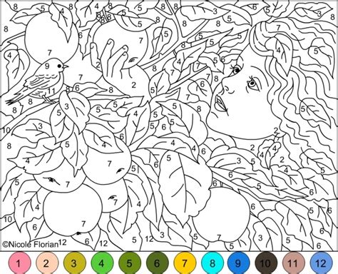 difficult color  number pages  grown ups hlt