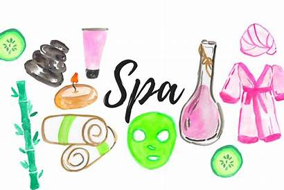 Spa Clipart Beauty Watercolor Svg Graphics