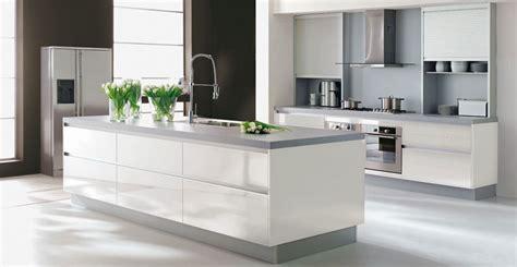 idee deco cuisine grise idee deco cuisine blanc et grise