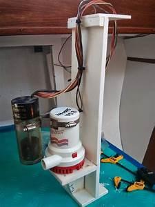 Sv Pilgrim  Installing Electric Bilge Pumps