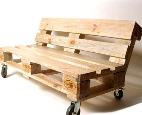canapé en bois de palette le salon de jardin en palette en plus de 110 idées originales
