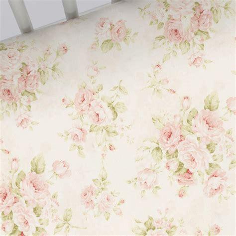 pink floral sheets pink floral crib sheet carousel designs