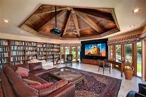 30 classic home library design ideas imposing style for Home library ideas