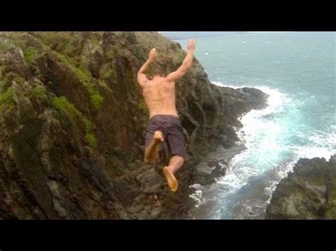 cliff jumping hawaii proof youtube