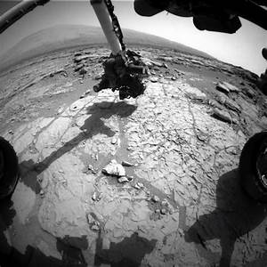 Curiosity Rover FTW: Drills Martian Rock, Takes Photos