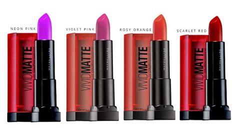 Harga Lipstik Merk Maybelline daftar harga lipstik maybelline matte terbaru 2018