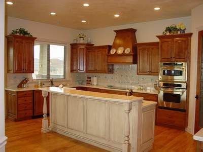 white wood stain kitchen cabinets kitchen stained cabinets with white island these glazed 1885