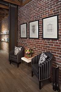Amazing interior design ideas with brick walls style