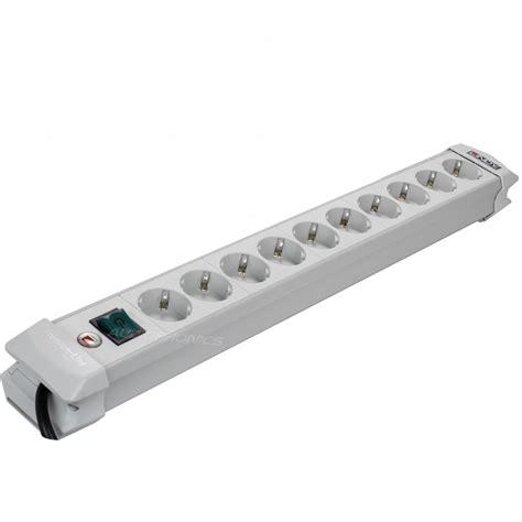 multiprise 10 prises multiprise premium 10 prises schuko avec interrupteur audiophonics