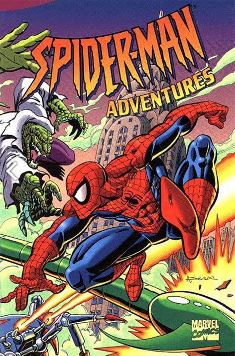 spider man adventures tpb spiderman animated wikia