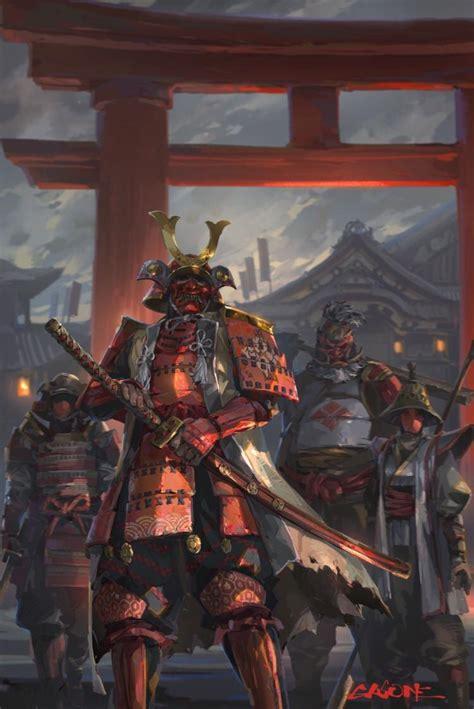 samourai siege cool samurai by shengyi sun forhonor