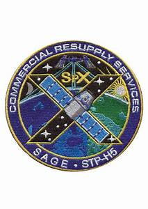 SpaceX CRS-10 Embroidered mission patch | Astronomy Now ...