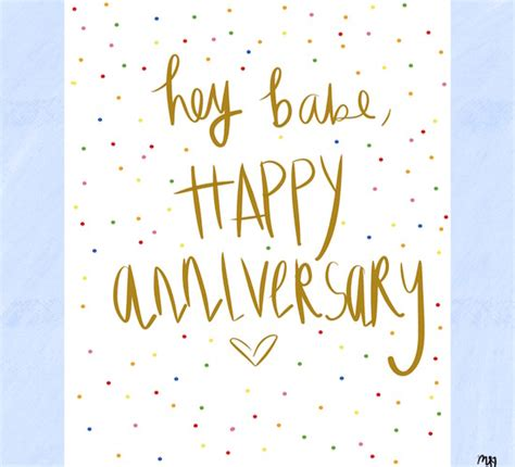 hey babe happy anniversary    ecards greeting cards