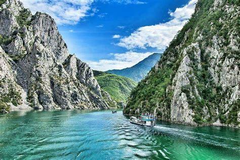 Liqeni i Komanit.   Outdoor, Water, Albania
