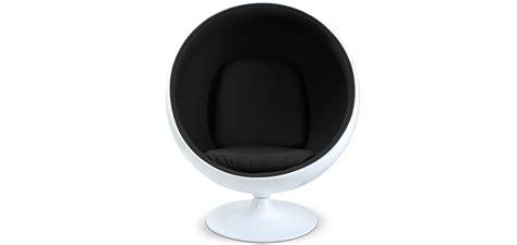fauteuil ballon eero aarnio chair eero aarnio style faux leather design armchair