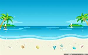Download Beach Cartoon Wallpaper Gallery