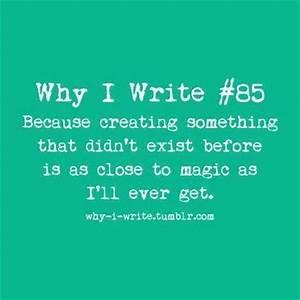 Writing is Magic | Writing Inspiration | Pinterest