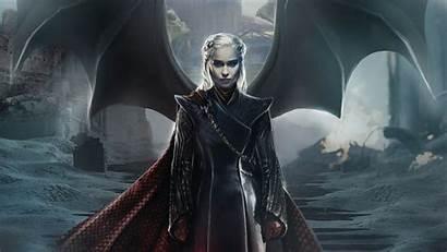 Daenerys Thrones Targaryen Emilia Clarke 4k Season