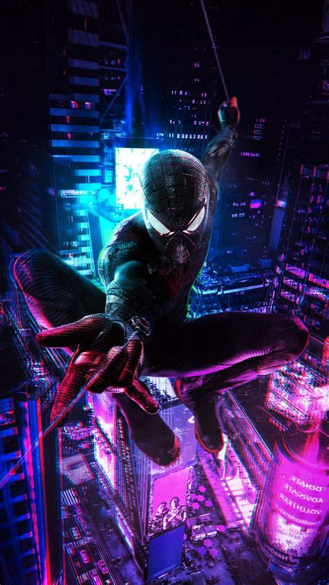 Explore these incredible cyberpunk wallpapers that we've gathered in our gallery! Spiderman Cyberpunk iPhone Wallpaper - iPhone Wallpapers : iPhone Wallpapers