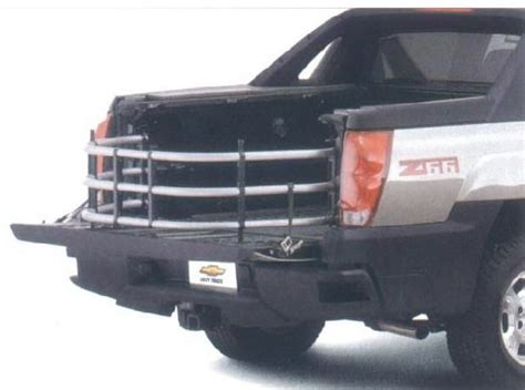 Silverado Bed Extender by Oem Bed Extender For 2002 And Up Chevy Avalanche Chevy