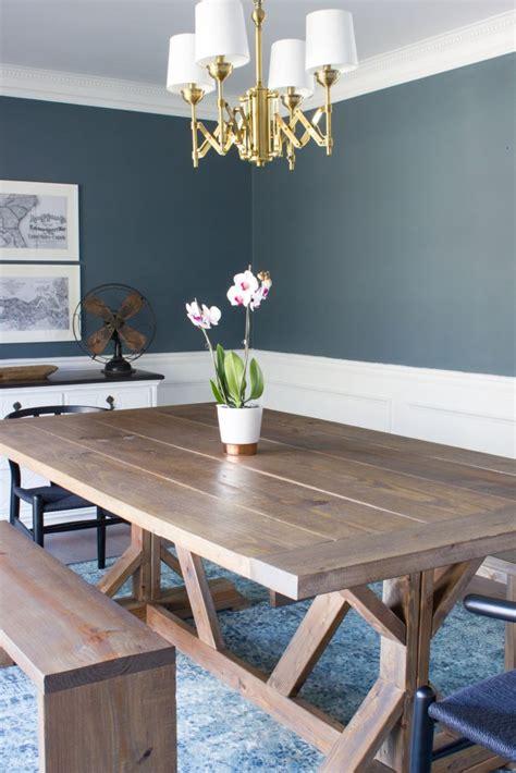 modern farmhouse kitchen tables modern farmhouse dining table benches erin spain