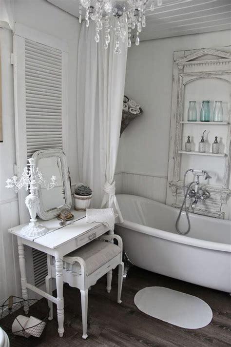 shabby chic bathroom ideas 26 adorable shabby chic bathroom décor ideas shelterness