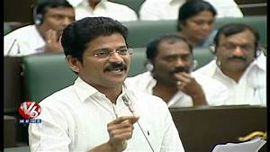 TDP MLA Revanth Reddy Speech in AP Assembly Session - YouTube