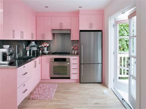 colour kitchen ideas bloombety modern kitchen color schemes with pink mat