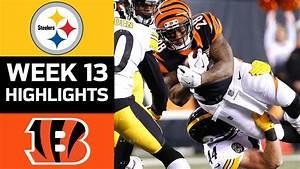 Steelers Vs Bengals NFL Week 13 Game Highlights R1Dvideos
