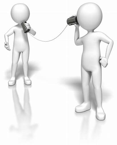 Stick Clipart Listening Communication Figure Customer Hear