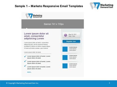 marketo email templates marketo responsive email templates