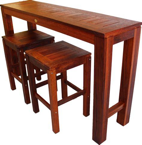 Kwila 'hayman Bar Tables'  Daydream Leisure Furniture