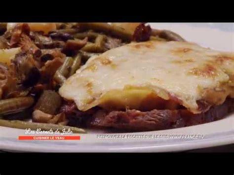 cuisiner le roti de veau recette rôti de veau orloff de laurence les