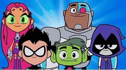 Titans Teen Smile Cartoon Gifs Animated Characters