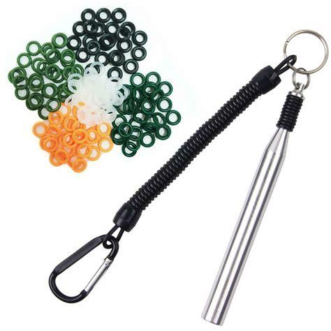 wacky worm rig hooks tool jig kit baits worms