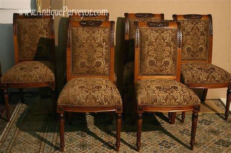 upholstered dining room chairs custom finish high  ebay