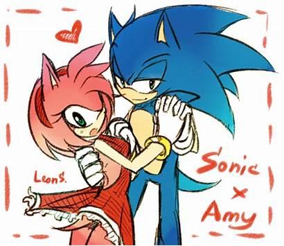 Sonic Amy Sonamy Hedgehog Eggman Rose