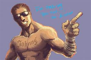 JOHNNY CAGE FROM MORTAL KOMBAT!!!!! | Publish with Glogster!