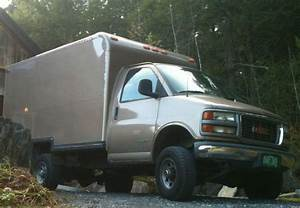 Find Used Quigley 4x4 Gmc Savana 3500 Cube Van 1999 In Burlington  Vermont  United States  For